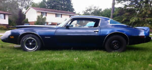 1979 FIREBIRD....Very Solid...Great Motor / Trans / Shell..