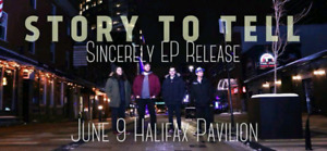 Story To Tell EP Release Show, Save the Pavilion!