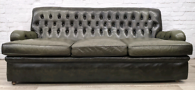 Chesterfield Sofa (DELIVERY AVAILABLE)