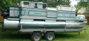 16 foot pontoon boat