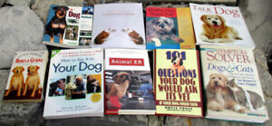 Important (and some funny) books about your dogs. And cats.