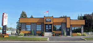 Local et bureau à louer à Delson