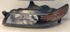 Head Light Driver Side Base Models Acura TL 2007