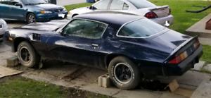 1980 z28 Camaro parts