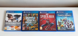 PS4 Games with Marvel's Spider-Man