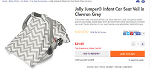 jolly jumper carseat canopy