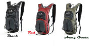 New 15L Cycling Bladder Bag Backpack Camping  Travel Hiking Pack