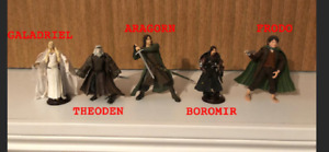 Figurines d'occasion Lord of the ring $ 5 chacunes