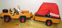 JEEP-TRAILER-TENTE...¨1960-70 ¨Fisher Price¨...JEEP-TRAILER-TENT