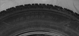 almost new set of goodyear ultra grip winter tires and rims