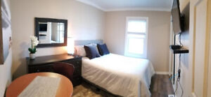 Furnished bachelor -- WiFi/Laundry/Cable/Parking