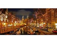 Christmas Amsterdam 5day, 4nights holiday for 2, flights included