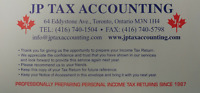 PERSONAL INCOME TAX FILING