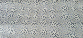 Vinyl Lino 2mx2.5m NEW. Blue mosaic, suit bathroom / small kitchen