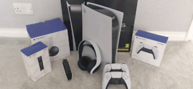 PlayStation 5 digital edition with accessories