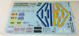 Gofer Racing Decals 1/25 Kenworth K-123 COE Decal