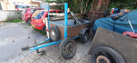 Small trailer all works