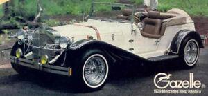 Mercedes Gazelle 1929 - Self Build  Kit Car