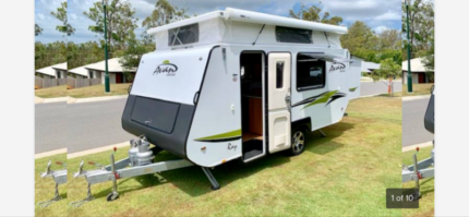 **2016 A'VAN RAY EXPANDER amazing family caravan AS NEW 14 ft**** Mount Cotton Redland Area Preview