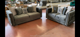 Fendi roma Italian 3&2 seater sofa set New free local delivery