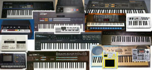 Vintage synthesizers for sale