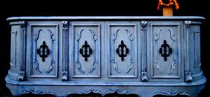 Huge antique sideboard/dresser -Refinished!!