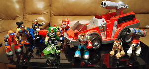 Action Figures + More Toy Lot