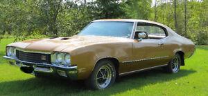 VERY RARE 1972 Buick GS 455, 2 Door Hard Top Sport Coupe.
