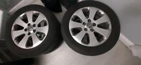 "Vauxhall insignia 17"" alloy wheels"