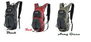 New 15L  Bladder Bag Cycling Bag Travel  Hiking Backpack Camping