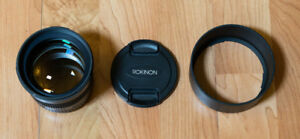 Rokinon 85mm f/1.4 AS IF UMC Lens for Canon EF. Mint condition