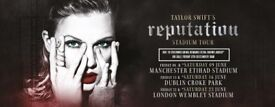 Taylor Swift Tickets - 22 June, Wembley - amazing seats, face value!