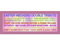 Next Generation Social Club ...... EASTER TRIBUTE ACT ( ONLY 4 PLACES LEFT )