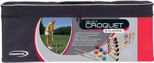 Halex Select Croquet Set Deakin South Canberra Preview