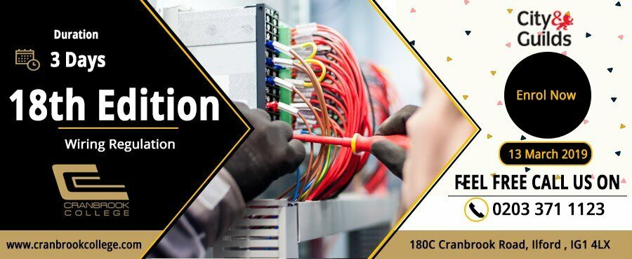 Pleasing 18Th Edition Wiring Regulation Bs7671 27 02 2019 Electrical Course Wiring Cloud Hisonuggs Outletorg