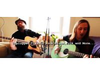 New Unplugged Acoustic Classic Rock, Blues & Folk Duo Available for Gigs.