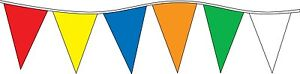 Pennant Flag Streamers MULTI COLOR 105' (48 12