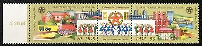 Alemania RDA / DDR 1988, Workers' Festival Of The GDR, Mi №...