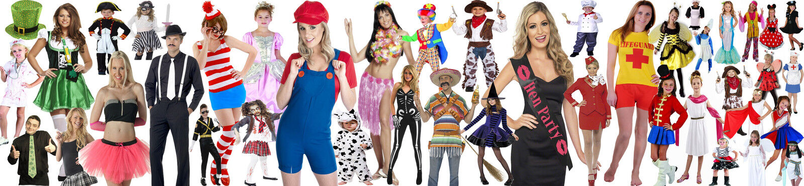 ALL PARTY FANCY DRESS