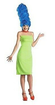 Deluxe ~ MARGE SIMPSON Halloween Costume ~ Adult S M L ~ NEW
