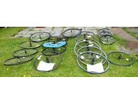 Mountain ,BMX, Hybrid, Racing, Alloy Wheels, New +Used, Disc + Vee Brake From £3 a Wheel.