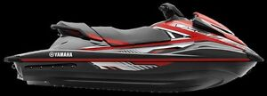 2016 yamaha  VXS RED AND BLACK