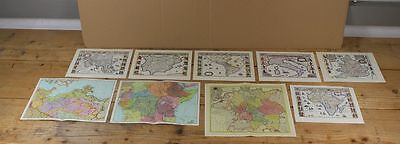 9 Old Small Map, St Roman Rich German Nation + Africa S124