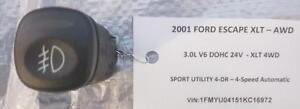 FOG LAMP / LIGHT CONTROL SWITCH for 2001 - 2007 FORD ESCAPE XLT $25