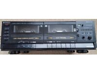 Hitachi Twin Tape Deck in good working order with all the features you would expect from Hitachi.