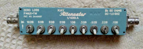 Kay Attenuator, Model #1/439 A