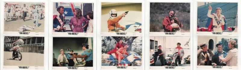 Viva Knievel! Set of 12 1977 Color Lobby Cards Original Movie Stills