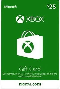 Looking for Xbox gift cards