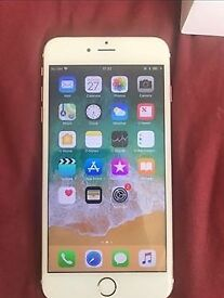 Rose Gold iPhone 7 Plus, Unlocked, Very good condition, 32GB