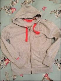 Ladies Large Superdry Hoodie Will Fit Size 10-12 Rrp £65